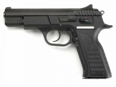 Bul Cherokee full-size pistol, pre-2005 production.