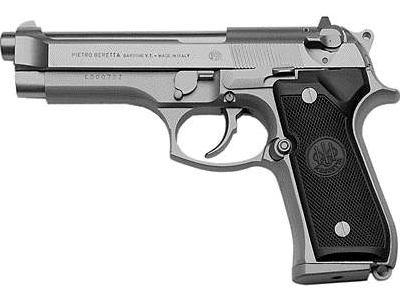 Beretta 92FS Inox (paslanmaz çelik).