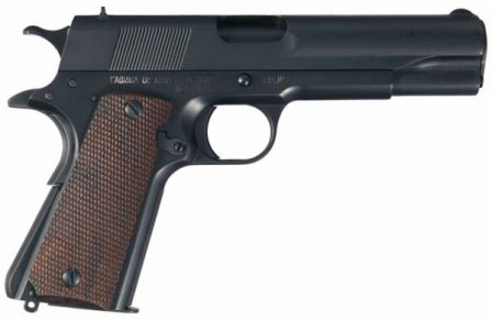 Obregon pistol, right side.