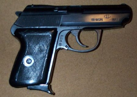 P64 pistol, right side.