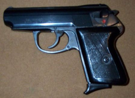 P64 pistol, left side.