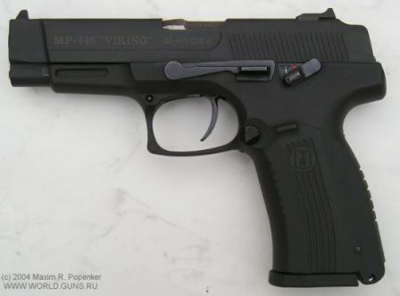 MP-446 'Viking' pistol, left side