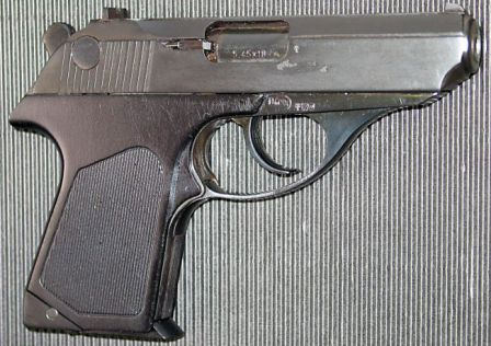 PSM pistol, right side