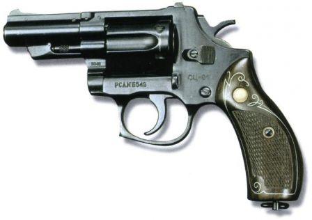 "OTs-01 / TKB-0216 / RSA ""Kobalt"" revolver (Russia)"