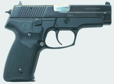 CZ-99 pistol, right side view
