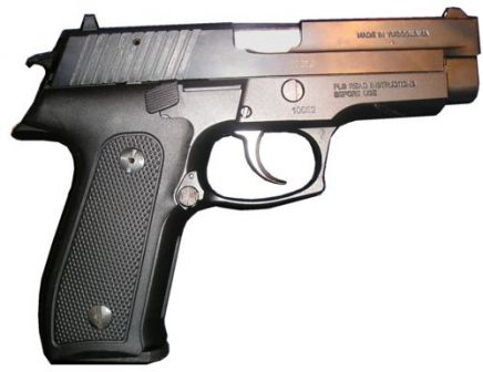 CZ-999 pistol, right side view