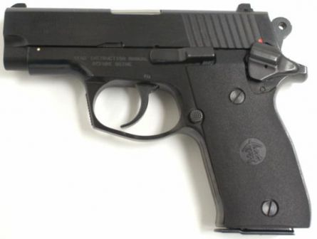 RAP-440 pistol, left side.