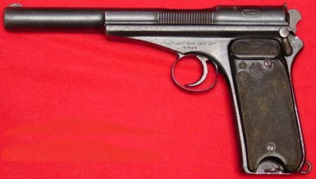 Campo-Giro pistol of 1913 - a predescessor to the Astra 400/600.