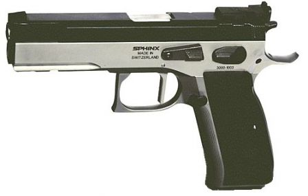 Sphinx 3000 Standard pistol (full size model with adjustable sights)