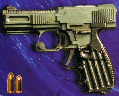 Shevchenko PSH-4 tabanca