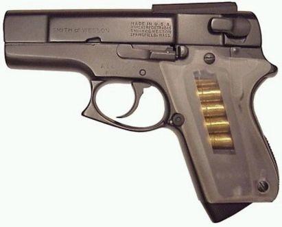 ASP tabanca, sol taraf