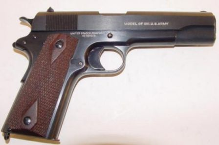 U.S. Pistol M1911 made by Colt