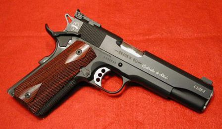 Customized Colt Government model Series 80 .45ACP