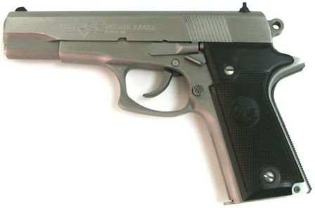 Colt Double Eagle pistol, left size