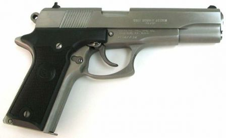 Colt Double Eagle pistol, right size