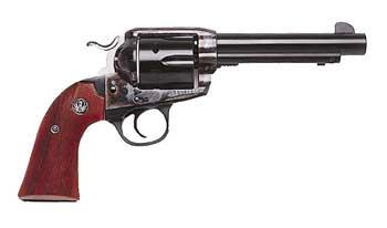Ruger Bisley Vaquero - Bisley-framed gun with fixed sights