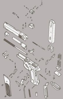 Click here to see exploded view of the S&W mod.59/659 pistol