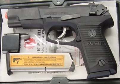 Ruger P90 - .45ACP, double action