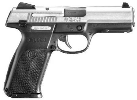 Ruger SR9 pistol, right side