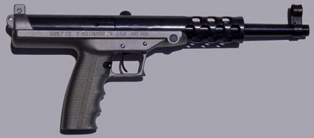 Goncz GA-9 tabanca daha az dergi, sağ yan görünüm