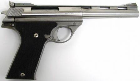 Erken üretim otomobili Mag modeli 180 tabanca, kalibre .44AMP, sağ taraf