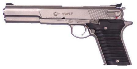 AMT Automag IV tabanca, 0,45 Winchester Magnum kalibreli