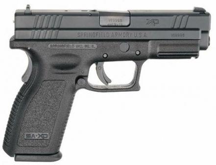 Springfield eXtreme Görev / XD tabanca, kalibre 9mm