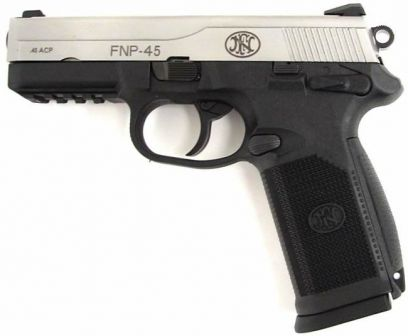 FNP 45 pistol, left side