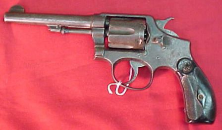 S&W Hand Ejector .38spl - model of 1905