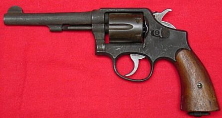 S&W model Victory - military WW2 production with 5 inch barrel