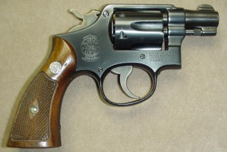 S&W Military and Police revolver with 2 inch barrel - circa 1949