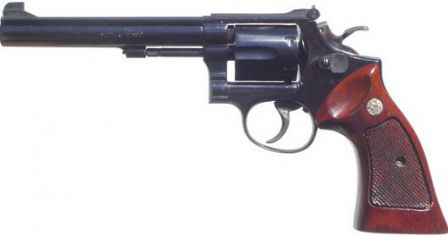 S&W K-38 Masterpiece Model 14 target revolver with 6 inch barrel
