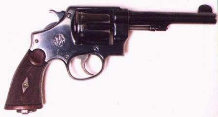 S&W M1917 - second model N-frame revolver, chambered for .45ACP