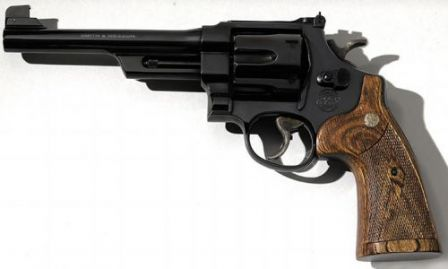 S&W Performance Center Model 25, a remake of the old revolver in the .45 Long Colt