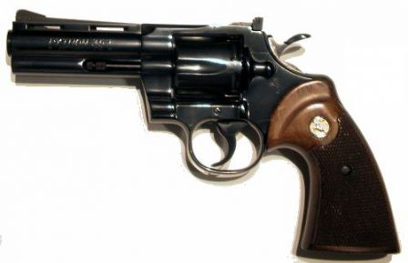Colt 'Python' with 4 in (102mm) barrel