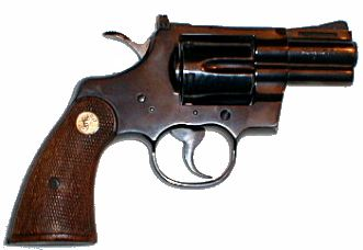 Colt 'Python' with 2.5 in barrel