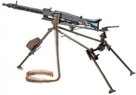 MG3 machine gun in