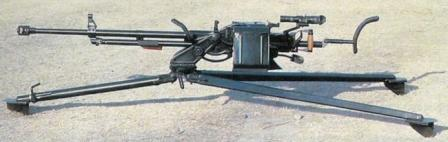 W85 heavy machine gun on universal mount.