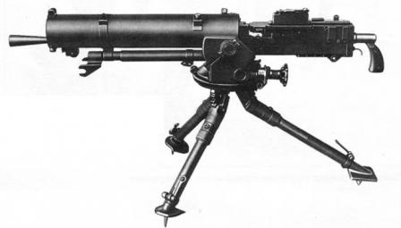 Polish-made unlicensed version of the Browning water-cooled machine gun, theWz.1930 in 7.92x57 Mauser caliber.