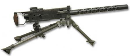 Belgian-made licensed version of the Browning air-cooled machine gun, the FN-30(post-WW2 manufacture).