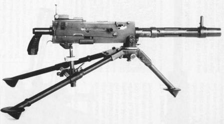 Browning M1919A2machine gun, as used by US Cavalry after WW1.