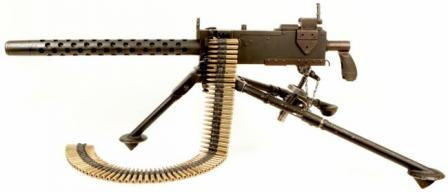 Browning M1919A4, left side.