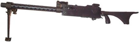 Browning M1919A6 light machinegun.