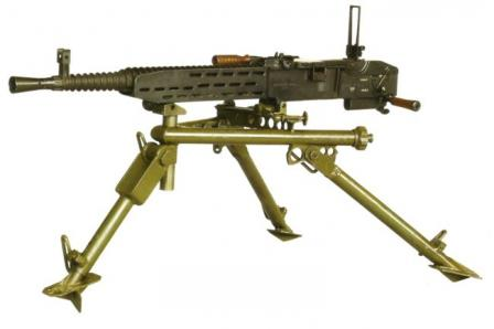 ZB 53 / Vz.37 machine gun, left side.
