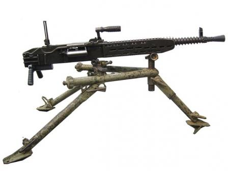 ZB 53 / Vz.37 machine gun, right side.