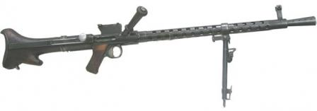 Steyr-Solothurn S2-200 / 31M light machine gun, Hungary.