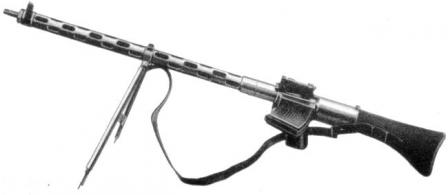 Steyr-Solothurn S2-100 light machine gun.