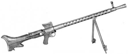 Steyr-Solothurn S2-200 / MG 30 light machine gun, Austria.