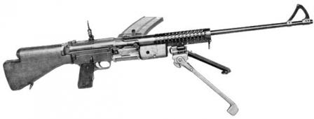 Johnson M1941 light machine gun.