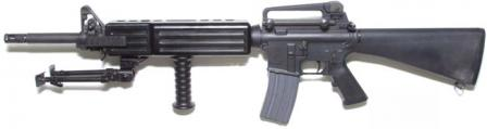 ColtM16A3 automatic rifle / light machine gun.